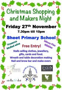 Sheet School Christmas Market 2015