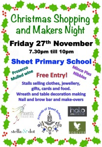 Sheet School Christmas Market 2015