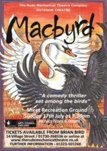 Macbyrd booking
